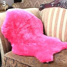 pink faux fur rug pink sheep skin rug pink sheepskin rug soft faux sheepskin rug mat carpet pad anti slip chair sofa cover for pink sheepskin rug dusky pink