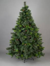 ... Canadian Spruce Artificial Christmas Tree (Green) ...