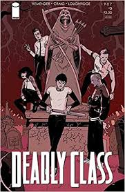 Amazon.com: Deadly Class #3 (Image Comics) - Wesley Craig Variant Cover  (0683405230434): Cover Art: Wesley Craig, Rick Remender, Lee Loughridge, Wesley  Craig: Books
