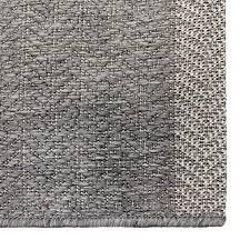 shop alfresco stripe dark grey indoor outdoor rug 5u00273 x 7u00276 on sale free shipping today overstockcom 16928420 gray outdoor rug a41