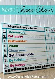 Homemade Chore Chart Ideas Vseprodom Info