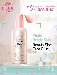 a photo of etude house beauty shot face blur