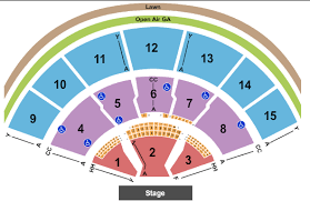 Xfinity Center Seating Chart Mansfield