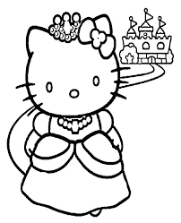 Free Hello Kitty Coloring Printables Coloring Pages Hello Kitty