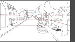 Zeichnen Lernen Perspektive Tutorial Bezugslinien Und Punkte