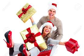 Family Christmas Picture Family Christmas Shopping Images Stock Pictures Royalty Free