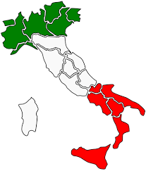 Italy map with regions vector image   Free SVG
