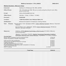 Medical Assistant Resume Template Adorable Medical assistant Resume Template Lovely First Time Job Resume