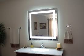 furniture white lighted bathroom mirror ideal lighted bathroom mirror inside lighted bathroom mirror plan from