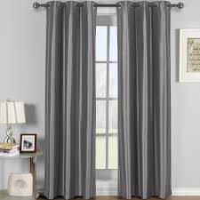 soho thermal blackout grommet top curtain panels single