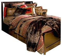 bear country cabin bedding set twin southwestern comforters king and comforter sets canada co