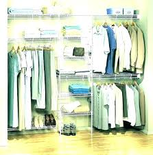threshold double rod closet organizer target covers d