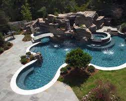 inground pools with waterfalls. Perfect Waterfalls Inground Pools With Waterfalls And With R