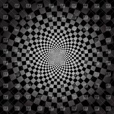 Chequered Pattern Extraordinary Round Chequered Pattern Racing Card Template Vector Image Vector