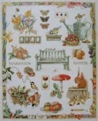 Details About Lanarte Needlework Cross Stitch Chart Pattern Marjolein Bastin Four Seasons