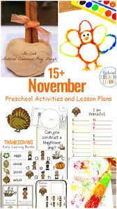 15 November Preschool Themes With Lesson Plans And Activities