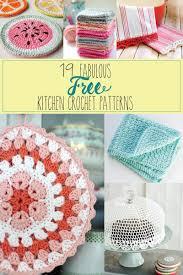 Craft For Kitchen 19 Fabulous Kitchen Crochet Patterns