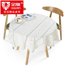 get ations golden eagle small round table tablecloth pvc water and oil repellency disposable hot coffee table cloth