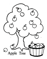 apple tree coloring page. Delighful Coloring Free Apple Tree Coloring Pages  Page  Intended Apple Tree Coloring Page