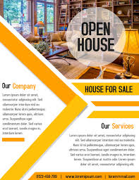 business open house flyer template open house property business real estate flyer and poster