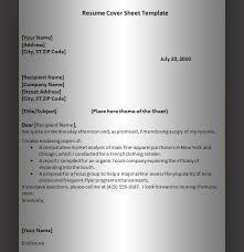 Resume Letter Templates Sample Resume Cover Letter 04 Ideas