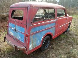 wee wagon 1950 crosley series cd super wagon this car looks rock solid or as rock solid as any 1950 car can be that has a window missing luckily the seller has that window it s just not in the car