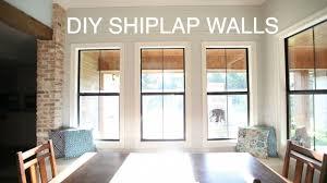 shiplap wall. shiplap wall e