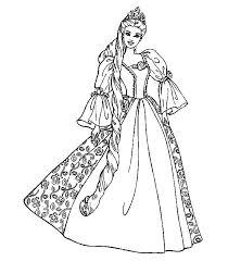 Disegni Principesse Da Stampare E Colorare Az Colorare