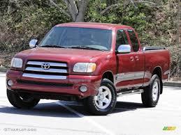 2003 Salsa Red Pearl Toyota Tundra SR5 Access Cab #79427181 ...