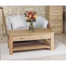 image baumhaus mobel. Baumhaus Mobel Oak Four Drawer Coffee Table Image