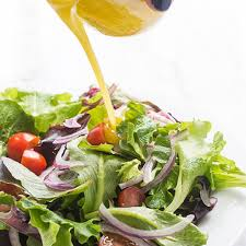 honey mustard vinaigrette salad