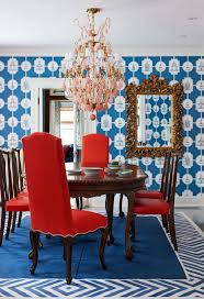 Red Dining Room Chairs 229 Best Glamclectic Dining Rooms Images On Pinterest Dining