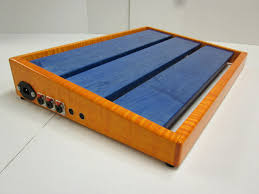 diy pedal board recycled pallet you how about a new pedalboard guitars rig talk view topic how about a new pedalboard