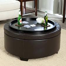 round coffee table ottoman medium size of leather leather ottoman round coffee table ottoman as your