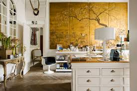 design inspiration hand painted and chinoiserie wall panels via this is glamorous
