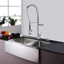 Kitchen Faucet Soap Dispenser Stainless Steel Kitchen Sink Combination Kraususacom