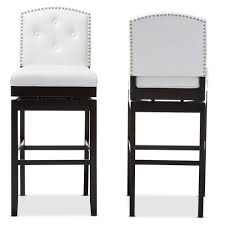 ... Large Size of Bar Stools:white Bar Stool Medlar Chrome Effect H W  Departments Bq Prd ...