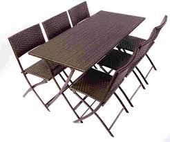 sofa photo of folding dining table and chairs set with wooden sets outdoor impressive for