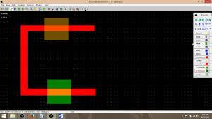 Inverter Layout Design Cmos Inverter Layout Design Microwind Youtube