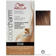 Color Charm Hair Color Chart Wella Color Charm Permanent Liquid Hair Color 5nw Light Natural Warm Brown