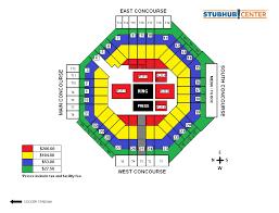 The Forum Seating Chart Boxing Cotto Vs Kamegai Stubhub Center