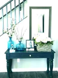 entry way table ideas full size of fall entryway foyer round furniture wonderful best decorating good wedding
