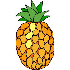 Dessin En Couleurs Imprimer Nature Fruits Ananas Num Ro 201304
