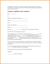 Complaint Format Format Of The Complaint Letter Fresh 100 Microsoft Word Plaint Letter 94