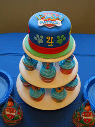 Skye and Everest Cake Paw Patrol Birthday Party