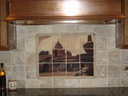 Mural Tiles For Kitchen Decor Marble Tile Murals Pacifica Tile Art Studio