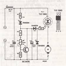 ac drill speed controller circuit speed drill controller circuit schematic