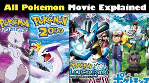 Pokemon All Movies Explained || Pokemon movies in Hindi | Pokemon Movie