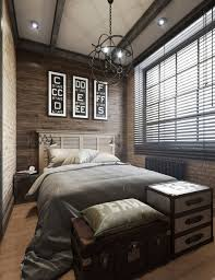 Bedroom: Small Bachelor Bedroom With Glass Window - Bachelor Bedroom Ideas