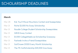 applying for scholarships how easy steps can help you earn your  screen shot 2015 03 26 at 3 29 15 pm
